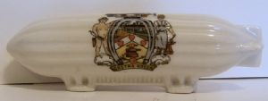 Carlton China Crested Zeppelin Airship - Gretna Green